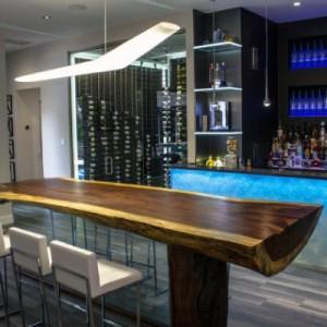 designing man cave amazing bar designs