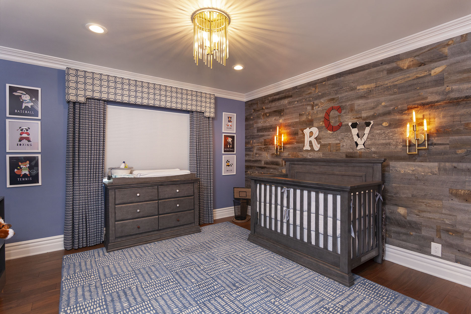 """Nursery Interior Design: """"Let The Room Grow With The Baby."""""""